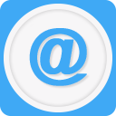 "Icon of the ""at"" email symbol"